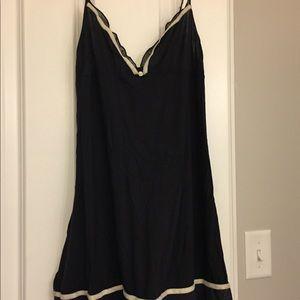 Black chemise